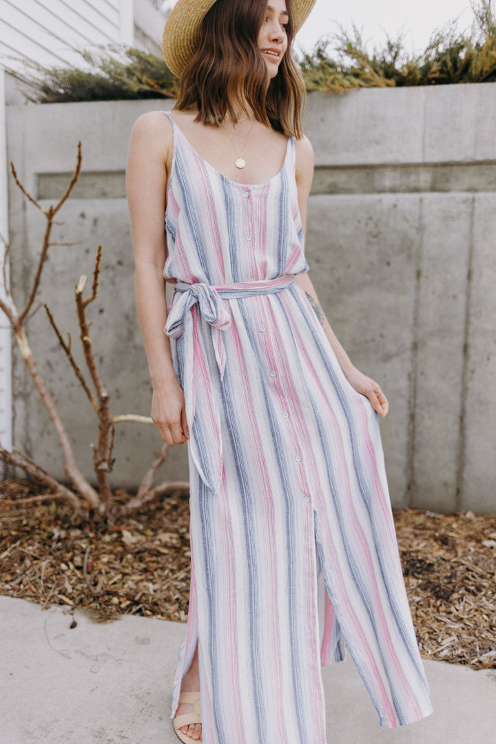 Bella Dahl Belted Maxi Dress