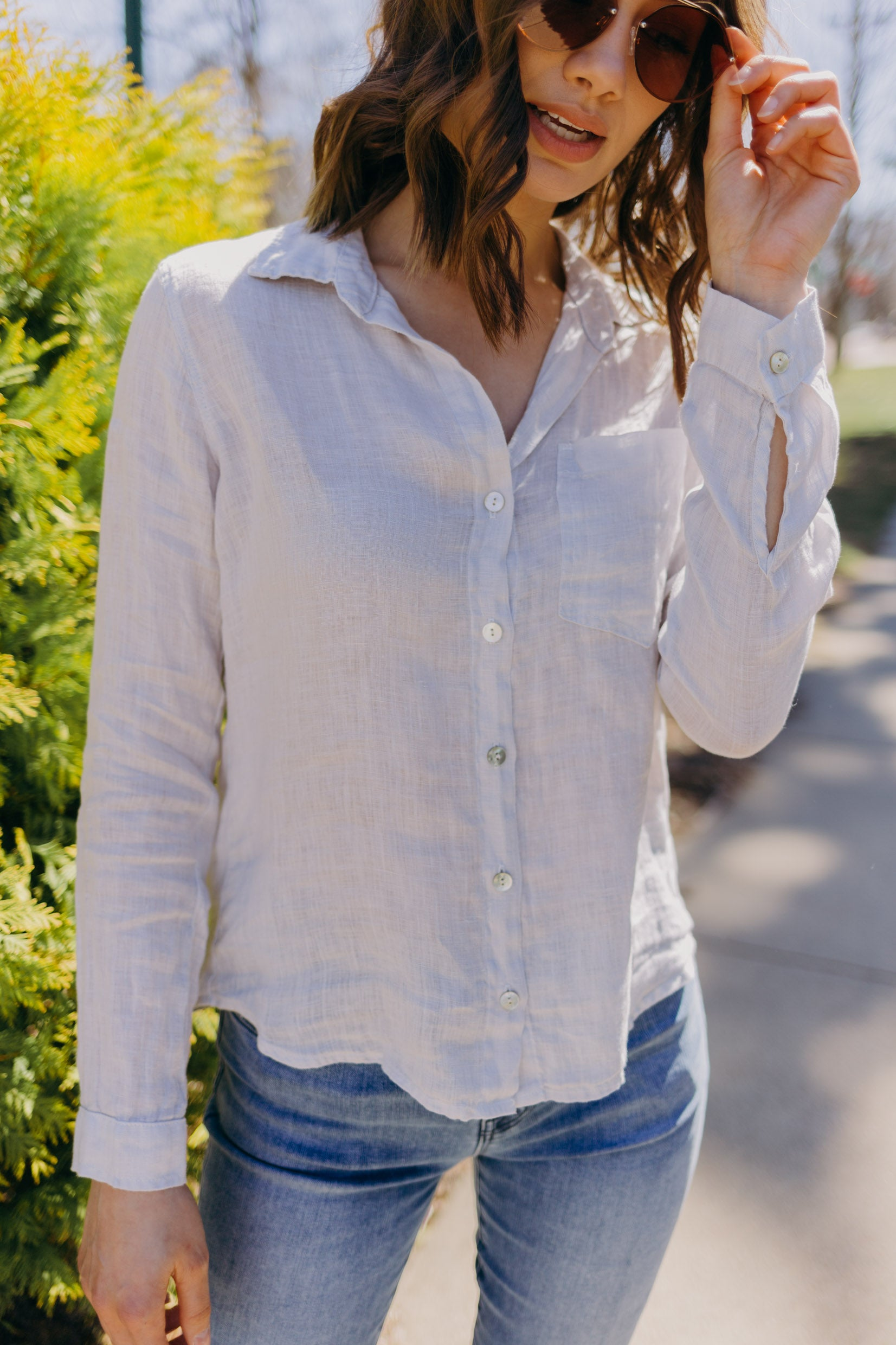 Bella Dahl Linen Button Down