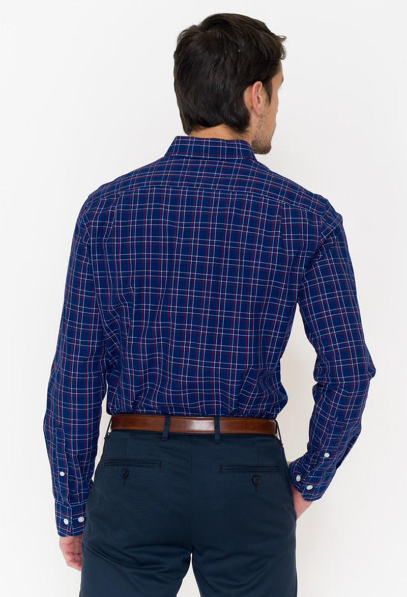 Bonobos Calvin Check Washed Button Down