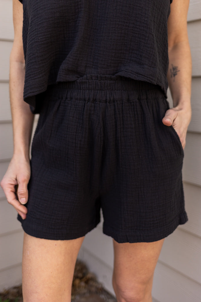 Rails Leighton Gauze Shorts