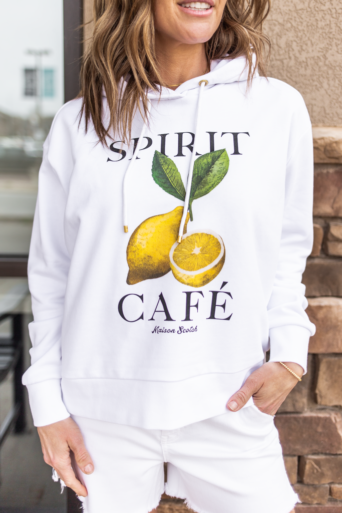 Scotch & Soda French Spirit Cafe Hoodie