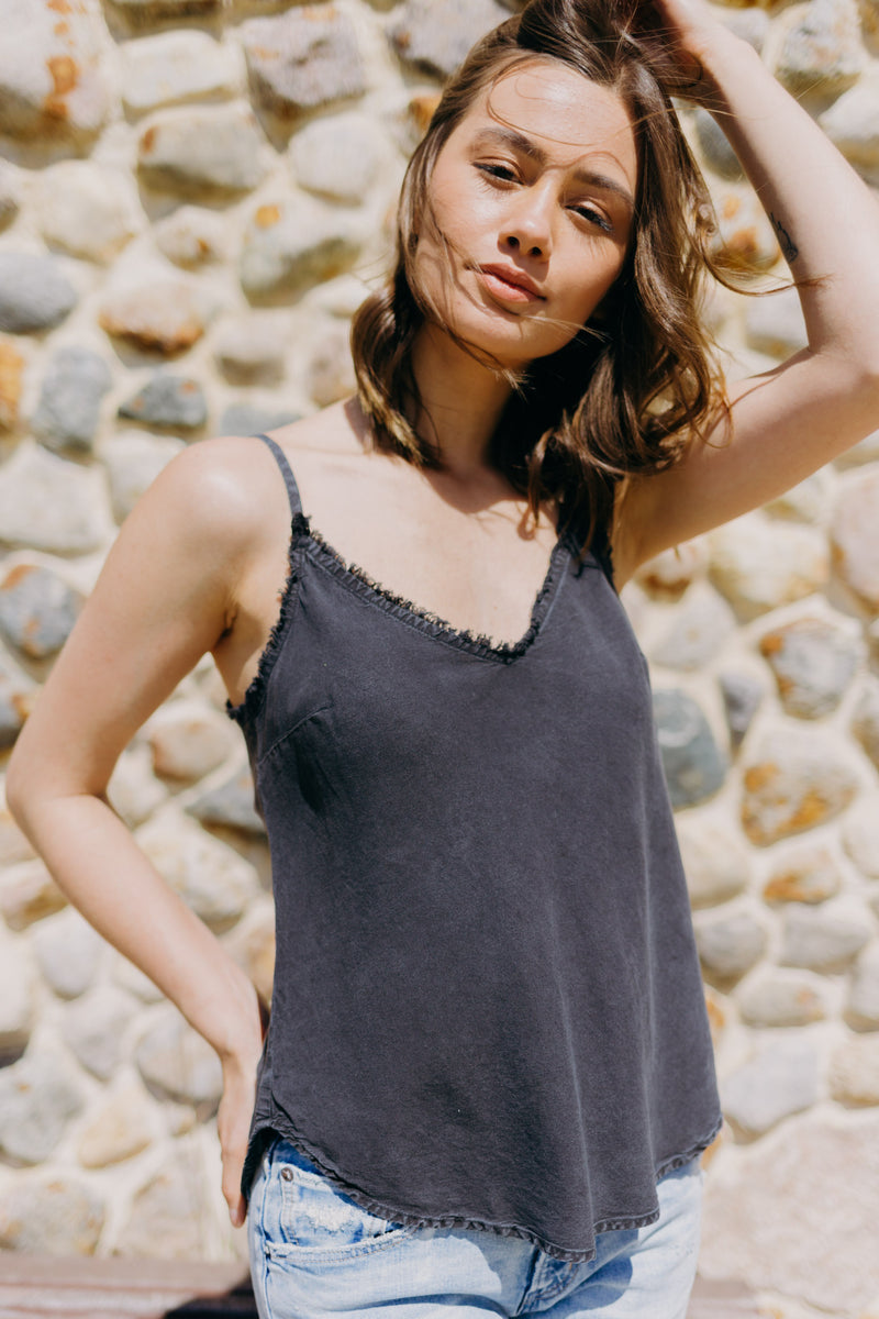 Bella Dahl Frayed Edge Cami
