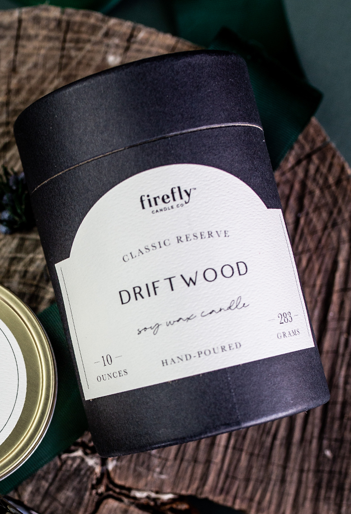 Classic Reserve Driftwood 10 oz. Soy Candle