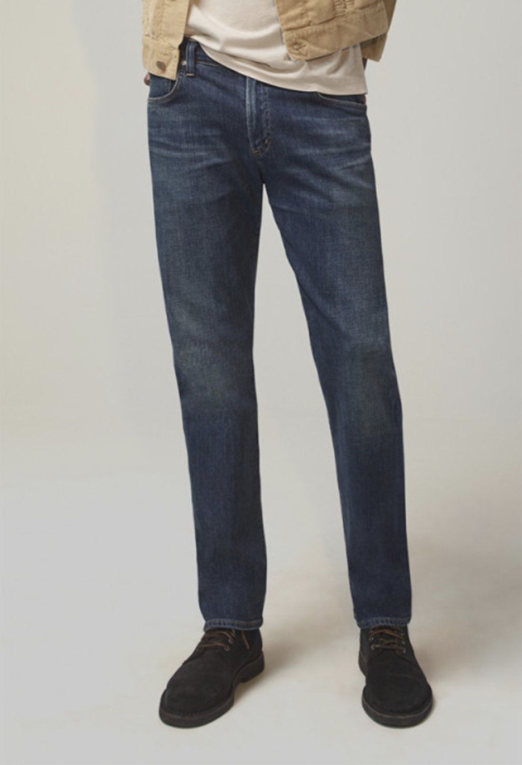 "Citizen of Humanity Gage Denim, Baren Dk Rinse - Extra Long 36"" Inseam"