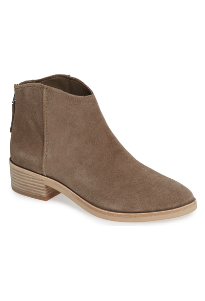 Dolce Vita Tucker Low Suede Booty - RUST & Co.