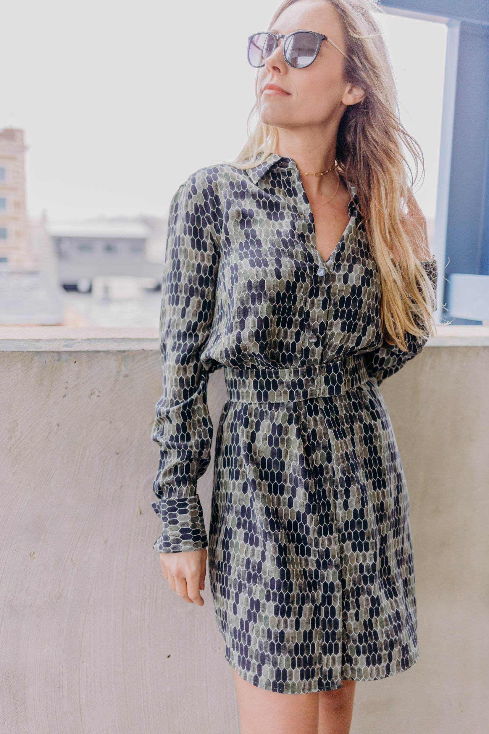 Equipment Edwidge Dress - RUST & Co.