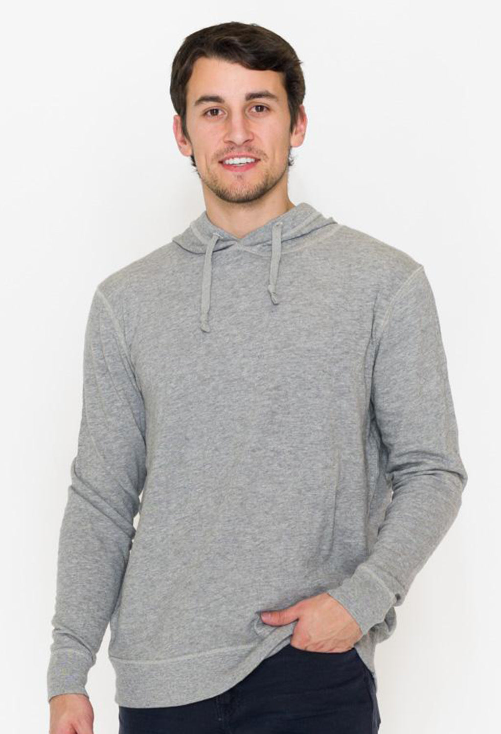 Faherty Slub Cotton Hoodie - RUST & Co.