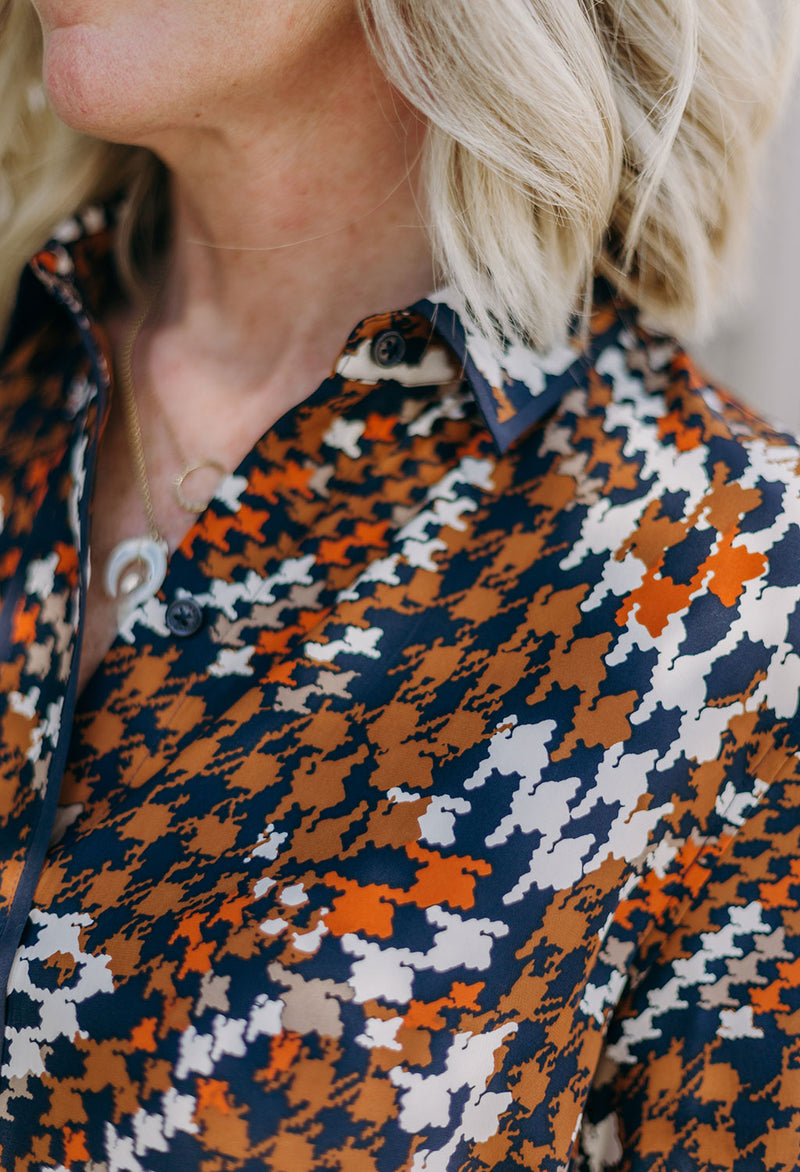 Equipment Leema Silk Shirt - RUST & Co.