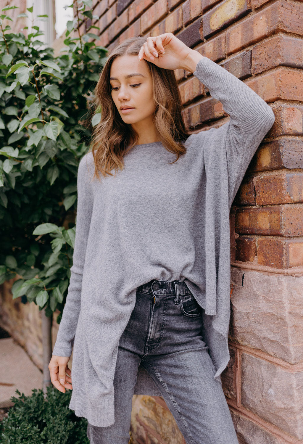 Whitney Easy Crew Sweater