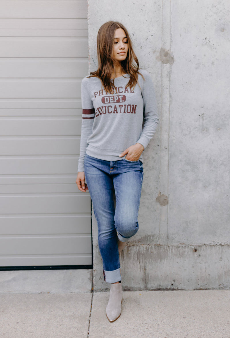 Phys Ed Cozy Knit Top