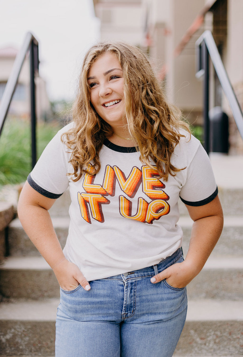 Chaser Live It Up Tee