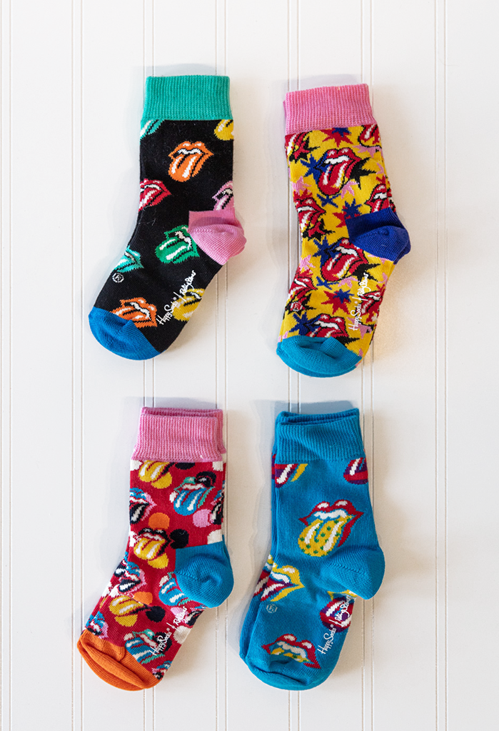 Happy Socks Kids Rolling Stones Gift Set