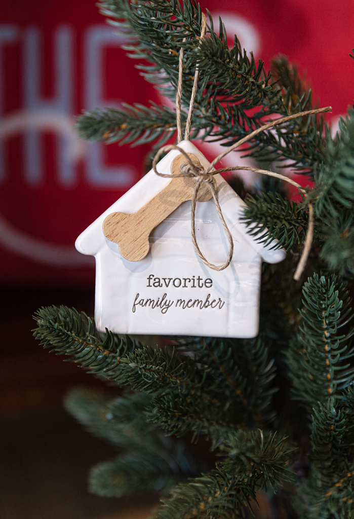 Favorite Family Member Ceramic Ornament