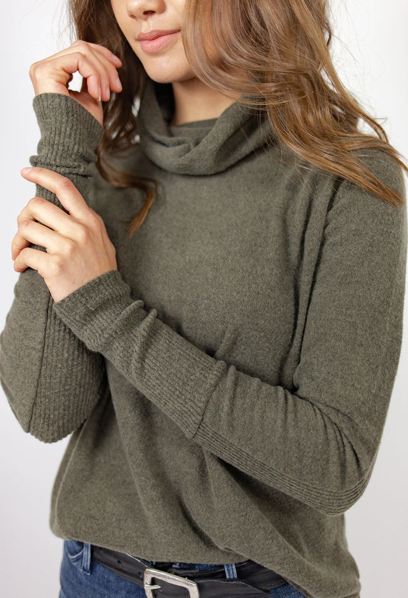 Lily Cowl Neck Pullover