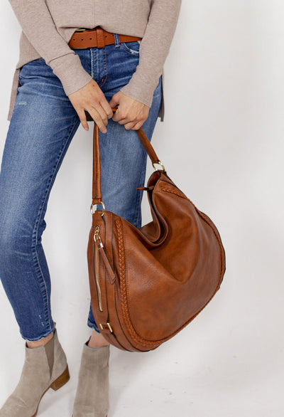 Katy Shoulder Satchel Bag - RUST & Co.