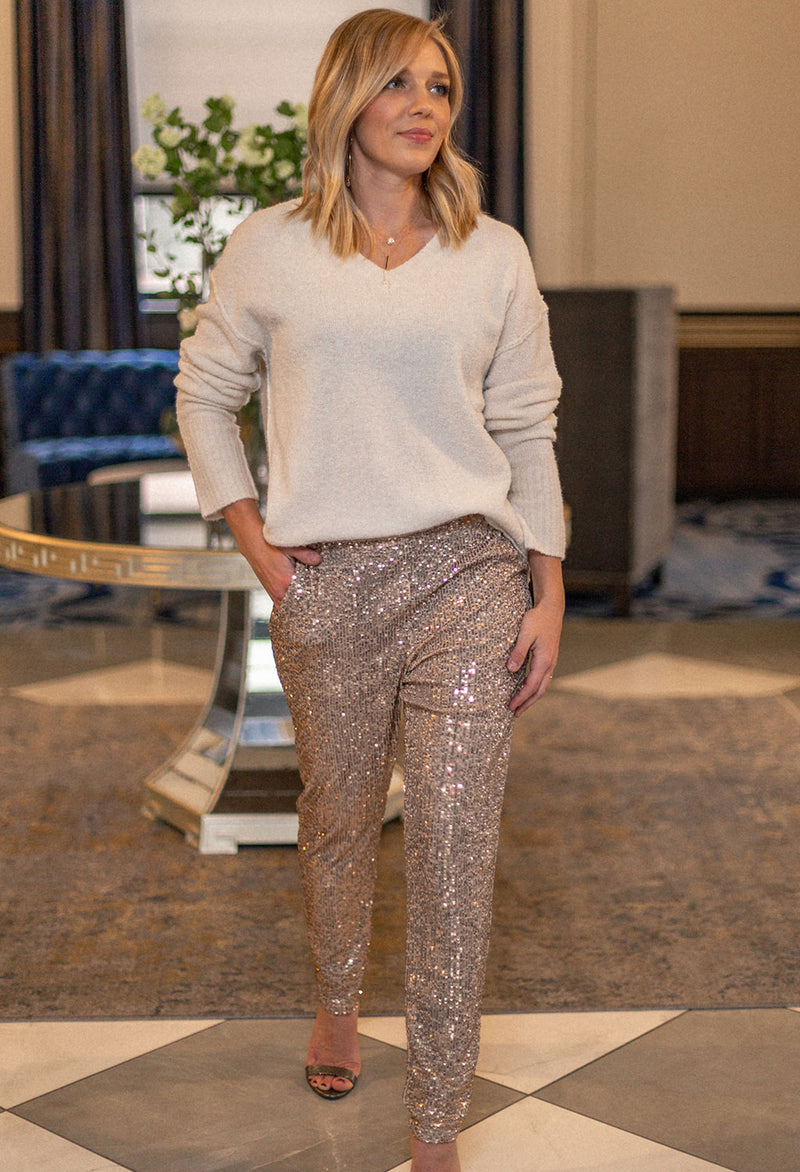 Ulma Sequin Pants