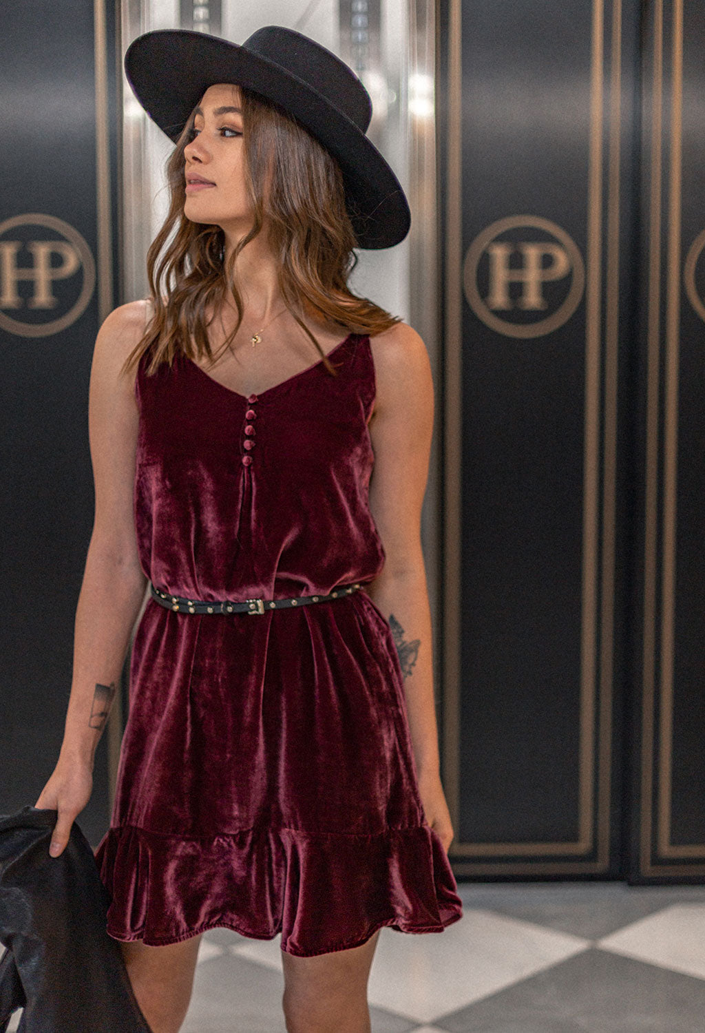 Rails Audrina Velvet Tank Dress