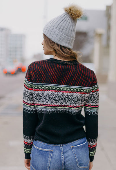 27 Miles Fairisle Wool-Cashmere Sweater - RUST & Co.