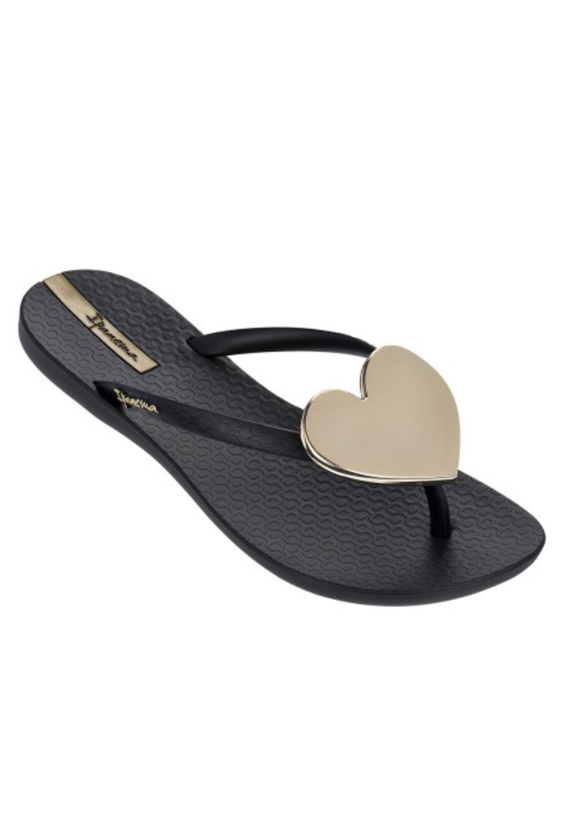 Ipanema Wave Heart Flip-Flop - RUST & Co.
