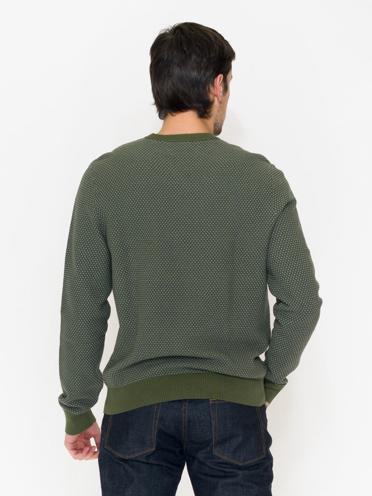 Penguin Tri-tone Popcorn Crew Sweater - RUST & Co.