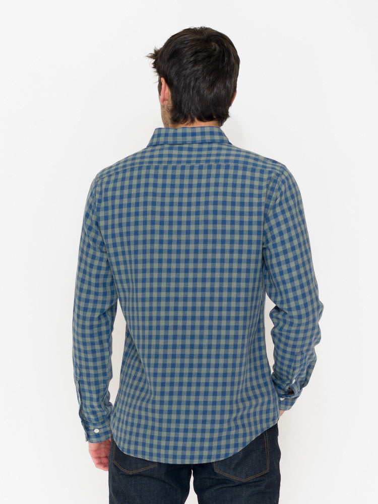 Normal Brand Stephen Indigo Gingham