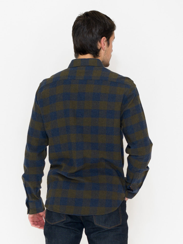 Faherty Seasons Shirt Brushed Twill Flannel