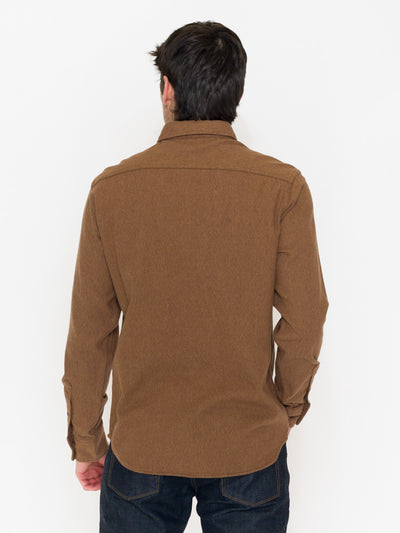 Faherty Brushed Alpine Flannel Button Front - RUST & Co.