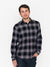 Rails Lennox Plaid Shirt, Black