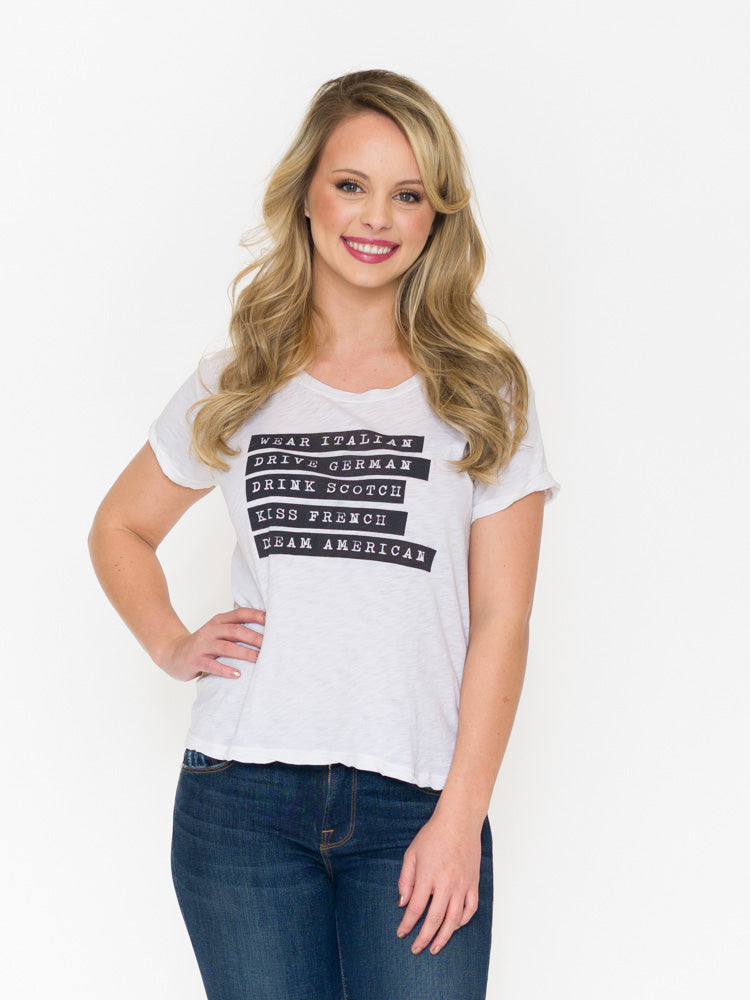 Sundry Dream American Tee