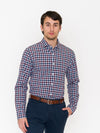 Bonobos Spring Lake Tattersall Button Down - RUST & Co.