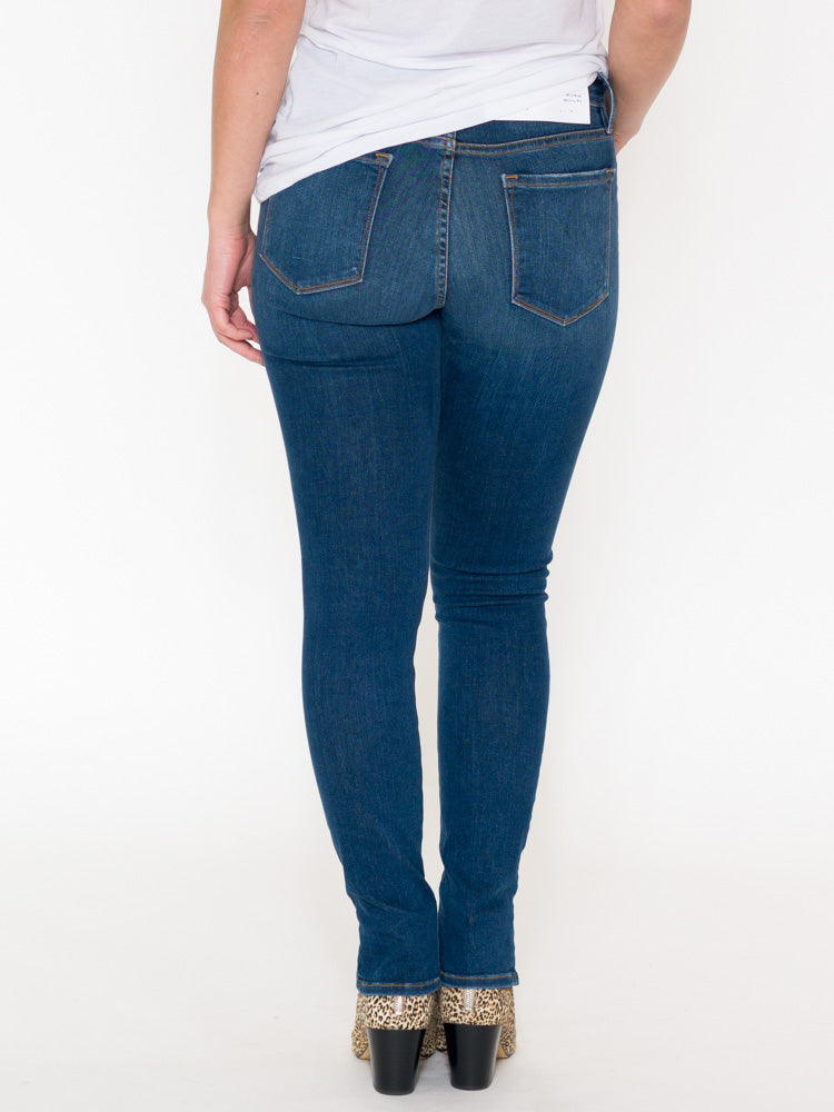 Frame Le Skinny Front Ankle Zip Jeans