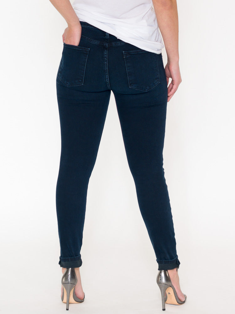 Frame Le High Distressed Skinny Jeans