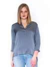 Montenegro Washable Silk Henley - RUST & Co.