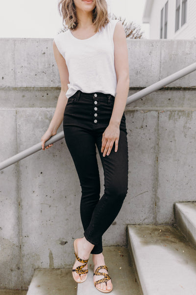 J Brand Lillie High Rise Crop Skinny - RUST & Co.
