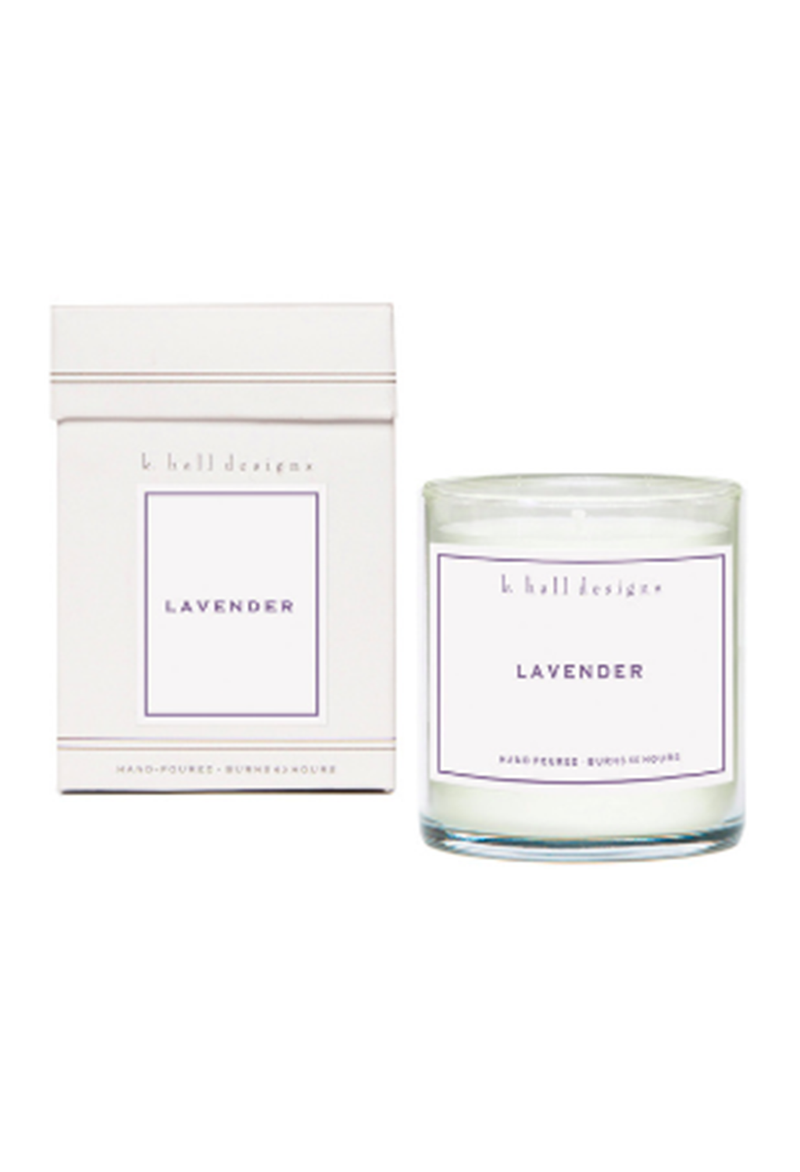 Lavender Scent Jar Candle - RUST & Co.
