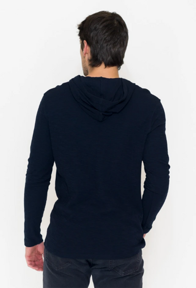 Long Sleeve Double Knit Pullover Hoodie - RUST & Co.