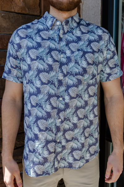 Rails Carson Shirt, Tropical Palm
