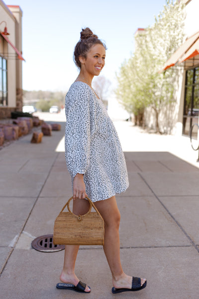 Joie Jade Printed Linen Dress