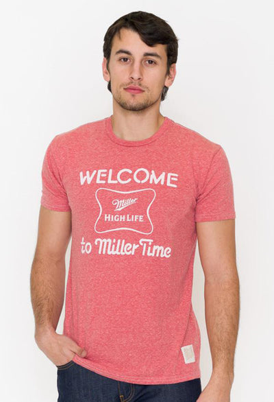 Miller Time Graphic Tee - RUST & Co.