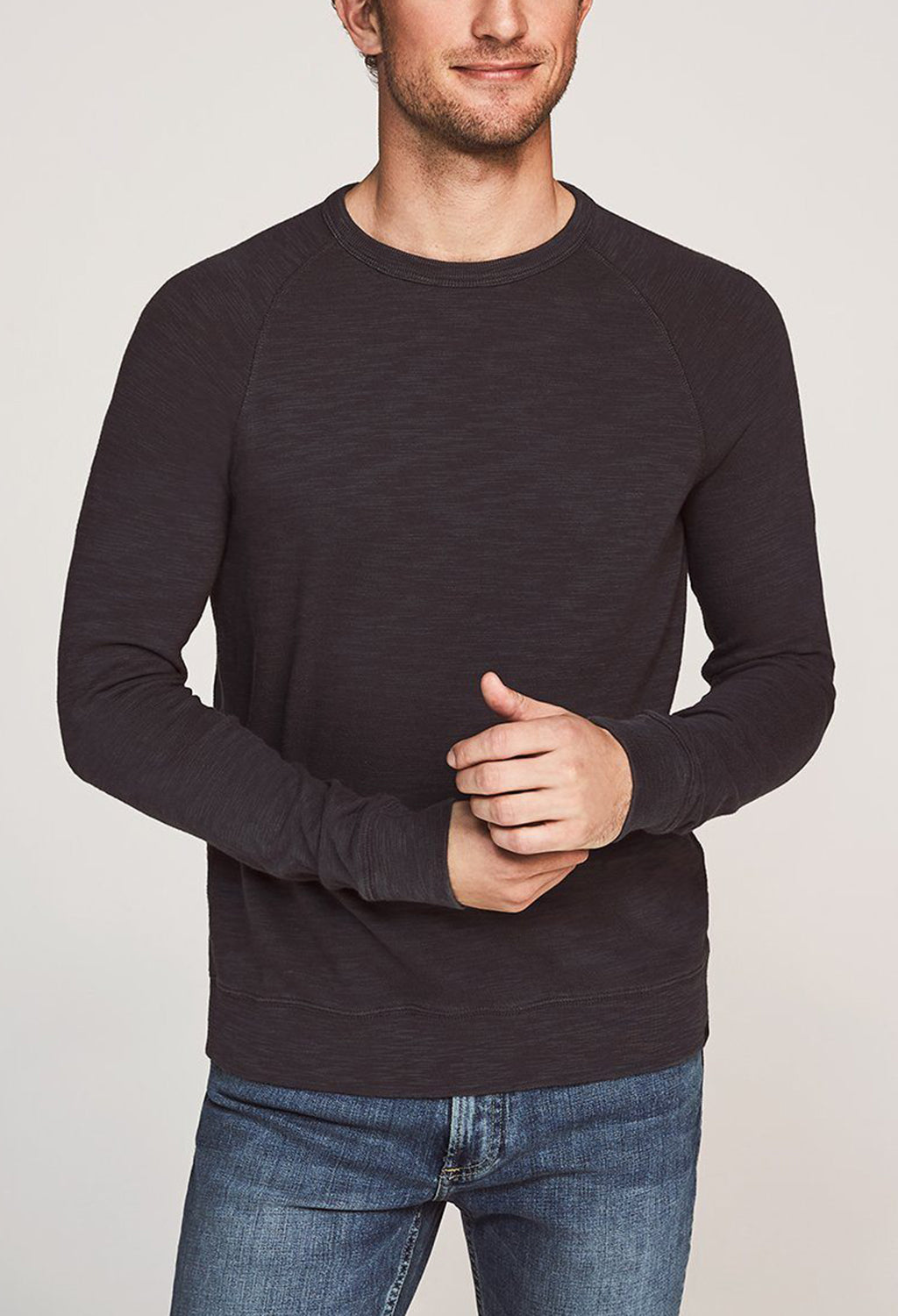 Faherty Raglan Sweatshirt - RUST & Co.