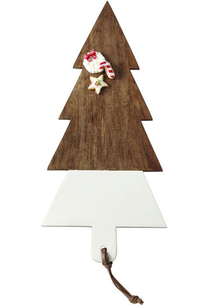 Oversized Tree Wood & Enamel Board