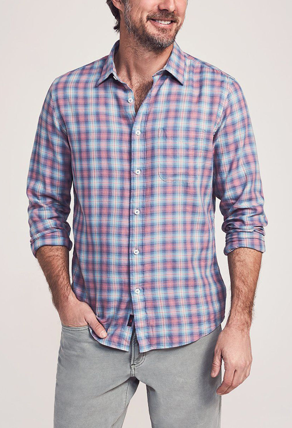 Faherty Everyday Shirt Summerland Plaid