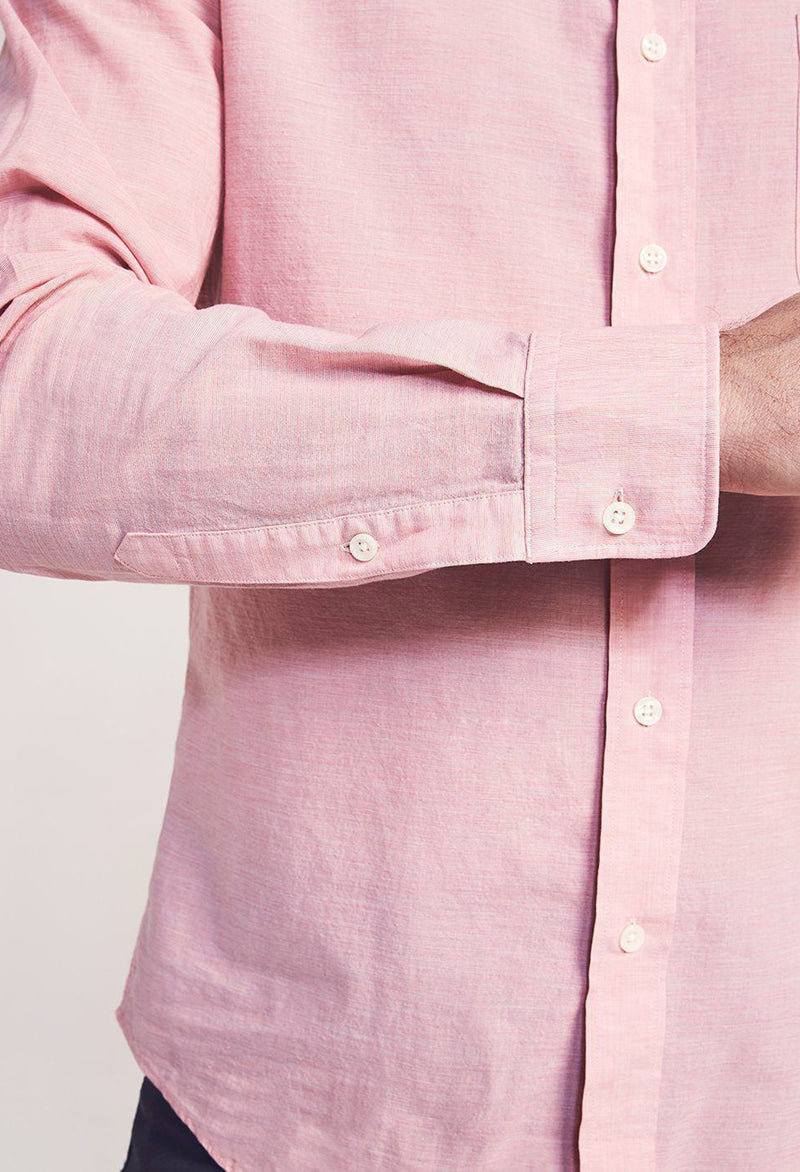 Faherty Cloud Summer Blend Shirt - RUST & Co.