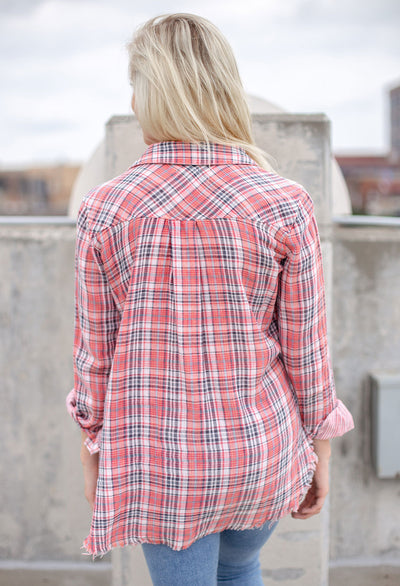 Nora Double Face Plaid - RUST & Co.
