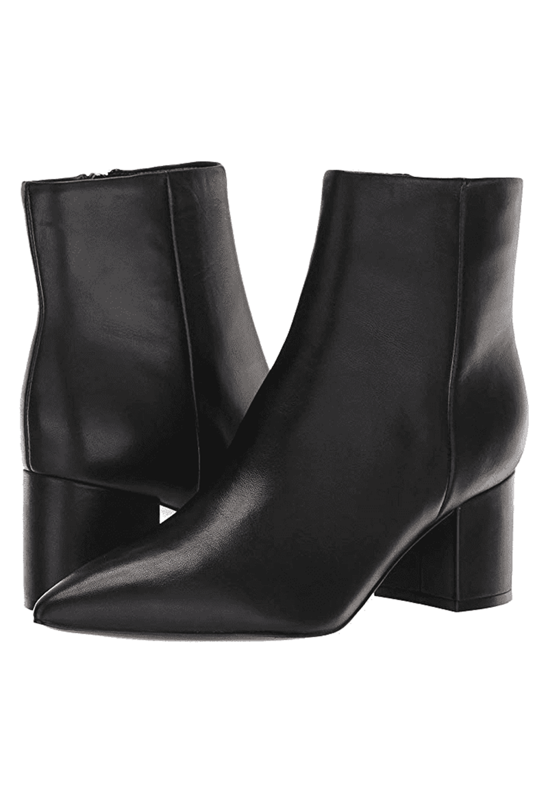Marc Fisher Jarli Leather Bootie, Black