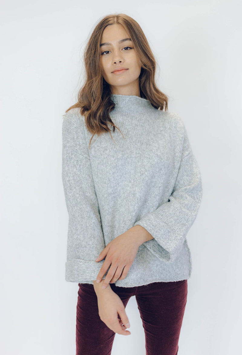 Line Agnes Mock Neck Sweater