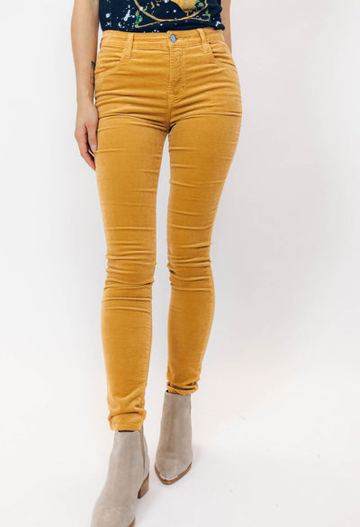 J Brand Velvet High Rise Skinny - RUST & Co.