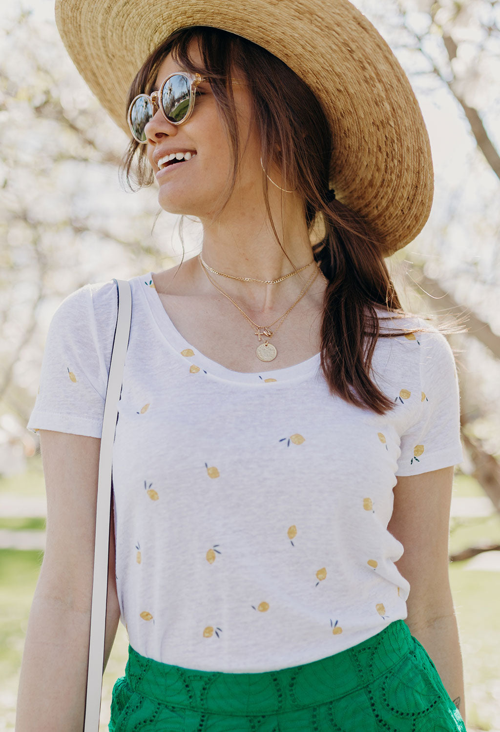 Rails Luna Tee, Lemon Print