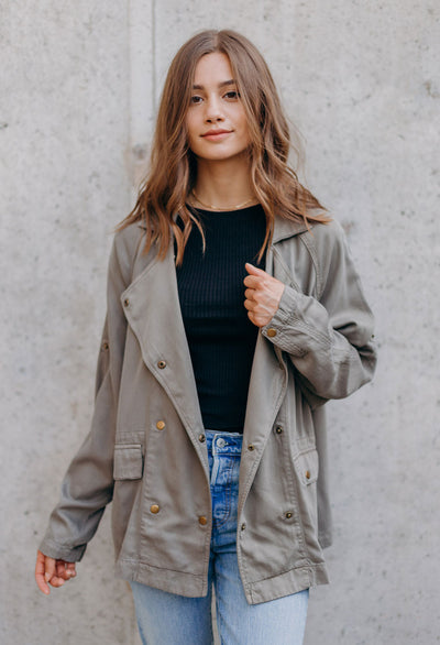 Riley Double Breasted Jacket - RUST & Co.