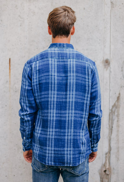 Faherty Doublecloth Pacific Shirt - RUST & Co.